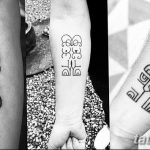 фото Самодельные тату (хэндпоук - Handpoke tattoo) от 27.10.2017 №075 - tatufoto.com