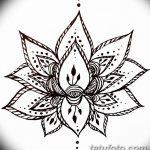 фото Символы мехенди от 24.10.2017 №004 - Mehendi symbols - tatufoto.com