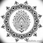 фото Символы мехенди от 24.10.2017 №033 - Mehendi symbols - tatufoto.com