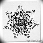 фото Символы мехенди от 24.10.2017 №061 - Mehendi symbols - tatufoto.com