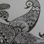 фото Символы мехенди от 24.10.2017 №077 - Mehendi symbols - tatufoto.com