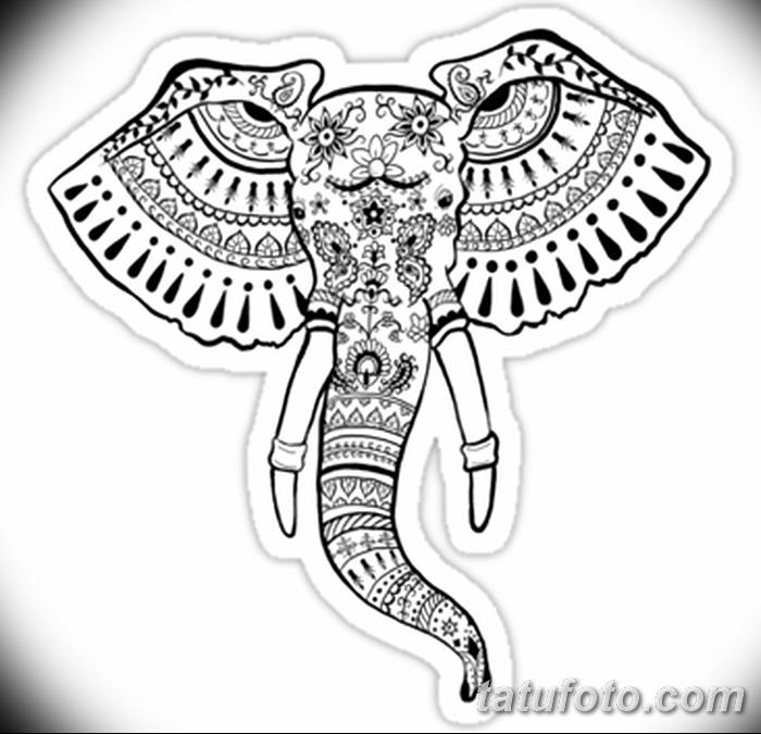фото Символы мехенди от 24.10.2017 №095 - Mehendi symbols - tatufoto.com