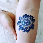 фото Синие тату от 18.10.2017 №041 - Blue Tattoos - tatufoto.com