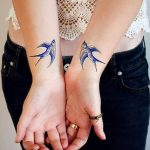 фото Синие тату от 18.10.2017 №042 - Blue Tattoos - tatufoto.com