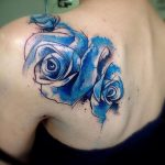 фото Синие тату от 18.10.2017 №072 - Blue Tattoos - tatufoto.com