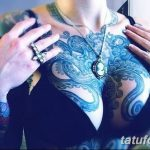 фото Синие тату от 18.10.2017 №075 - Blue Tattoos - tatufoto.com