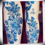 фото Синие тату от 18.10.2017 №120 - Blue Tattoos - tatufoto.com