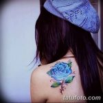фото Синие тату от 18.10.2017 №131 - Blue Tattoos - tatufoto.com