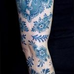 фото Синие тату от 18.10.2017 №133 - Blue Tattoos - tatufoto.com