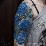 фото Синие тату от 18.10.2017 №165 - Blue Tattoos - tatufoto.com