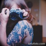 фото Синие тату от 18.10.2017 №166 - Blue Tattoos - tatufoto.com