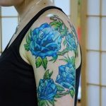 фото Синие тату от 18.10.2017 №186 - Blue Tattoos - tatufoto.com