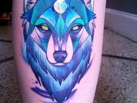 фото Синие тату от 18.10.2017 №197 - Blue Tattoos - tatufoto.com