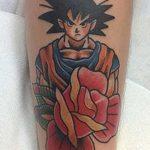 фото Тату в стиле аниме от 21.10.2017 №008 - Tattoo in the style of anime - tatufoto.com