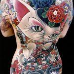 фото Тату в стиле аниме от 21.10.2017 №009 - Tattoo in the style of anime - tatufoto.com