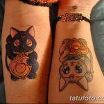 фото Тату в стиле аниме от 21.10.2017 №011 - Tattoo in the style of anime - tatufoto.com