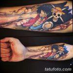 фото Тату в стиле аниме от 21.10.2017 №012 - Tattoo in the style of anime - tatufoto.com