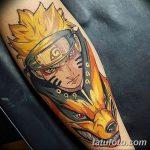 фото Тату в стиле аниме от 21.10.2017 №015 - Tattoo in the style of anime - tatufoto.com