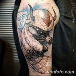 фото Тату в стиле аниме от 21.10.2017 №024 - Tattoo in the style of anime - tatufoto.com