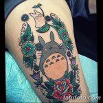 фото Тату в стиле аниме от 21.10.2017 №036 - Tattoo in the style of anime - tatufoto.com