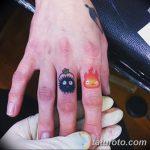 фото Тату в стиле аниме от 21.10.2017 №042 - Tattoo in the style of anime - tatufoto.com