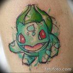фото Тату в стиле аниме от 21.10.2017 №045 - Tattoo in the style of anime - tatufoto.com