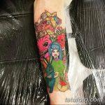 фото Тату в стиле аниме от 21.10.2017 №052 - Tattoo in the style of anime - tatufoto.com
