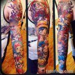 фото Тату в стиле аниме от 21.10.2017 №053 - Tattoo in the style of anime - tatufoto.com