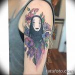 фото Тату в стиле аниме от 21.10.2017 №057 - Tattoo in the style of anime - tatufoto.com