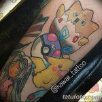 фото Тату в стиле аниме от 21.10.2017 №058 - Tattoo in the style of anime - tatufoto.com