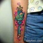 фото Тату в стиле аниме от 21.10.2017 №060 - Tattoo in the style of anime - tatufoto.com