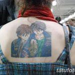 фото Тату в стиле аниме от 21.10.2017 №063 - Tattoo in the style of anime - tatufoto.com