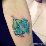 фото Тату в стиле аниме от 21.10.2017 №072 - Tattoo in the style of anime - tatufoto.com