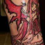 фото Тату в стиле аниме от 21.10.2017 №085 - Tattoo in the style of anime - tatufoto.com
