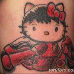 фото Тату в стиле аниме от 21.10.2017 №090 - Tattoo in the style of anime - tatufoto.com