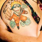 фото Тату в стиле аниме от 21.10.2017 №099 - Tattoo in the style of anime - tatufoto.com