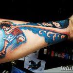 фото Тату в стиле аниме от 21.10.2017 №100 - Tattoo in the style of anime - tatufoto.com