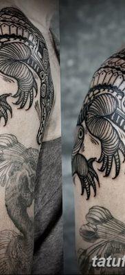 фото Тату со значением силы от 24.10.2017 №142 – Tattoo with strength value – tatufoto.com