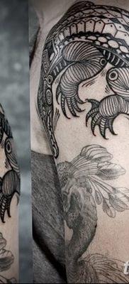 фото Тату со значением силы от 24.10.2017 №143 – Tattoo with strength value – tatufoto.com