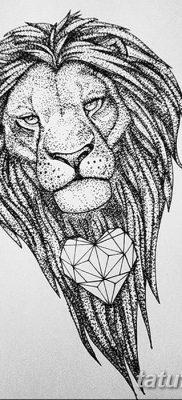 фото Тату со значением силы от 24.10.2017 №163 – Tattoo with strength value – tatufoto.com