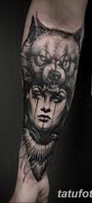 фото Тату со значением силы от 24.10.2017 №184 – Tattoo with strength value – tatufoto.com