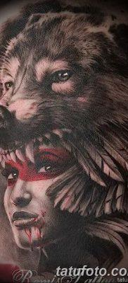 фото Тату со значением силы от 24.10.2017 №190 – Tattoo with strength value – tatufoto.com