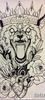 фото Тату со значением силы от 24.10.2017 №224 – Tattoo with strength value – tatufoto.com