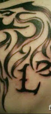 фото Тату со значением силы от 24.10.2017 №225 – Tattoo with strength value – tatufoto.com