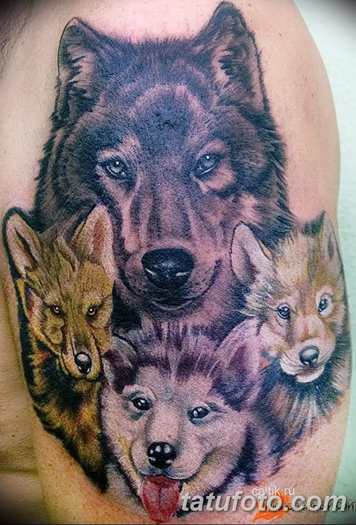 этого картинки тату волчица с волчатами плитка