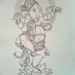 фото Эскизы индийских тату от 09.10.2017 №004 - Sketches of Indian tattoos - tatufoto.com
