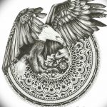 фото Эскизы индийских тату от 09.10.2017 №008 - Sketches of Indian tattoos - tatufoto.com