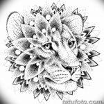 фото Эскизы индийских тату от 09.10.2017 №010 - Sketches of Indian tattoos - tatufoto.com