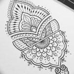 фото Эскизы индийских тату от 09.10.2017 №015 - Sketches of Indian tattoos - tatufoto.com