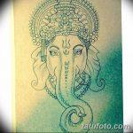 фото Эскизы индийских тату от 09.10.2017 №021 - Sketches of Indian tattoos - tatufoto.com